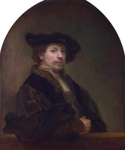 Постер на подрамнике Автопортрет.1640 г.