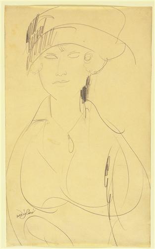 Постер на подрамнике Portrait of a Woman