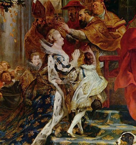 Плакат Коронация Марии Медичи