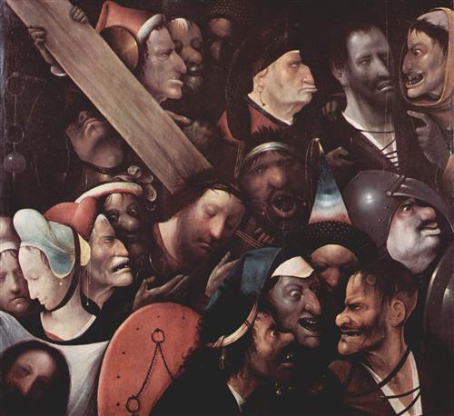 Плакат Несение креста