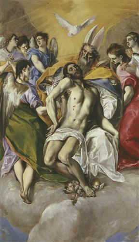 Постер на подрамнике The Trinity