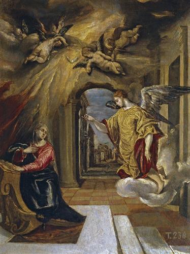 Плакат The Annunciation
