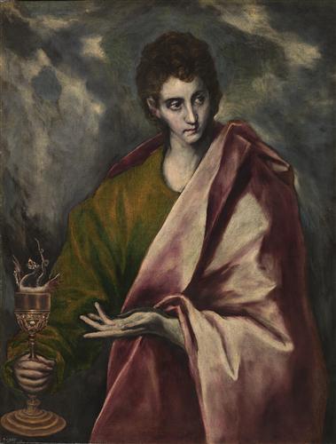 Плакат Saint John the Evangelist