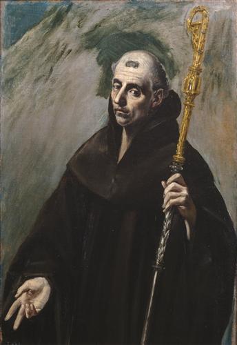 Постер на подрамнике Saint Benedict