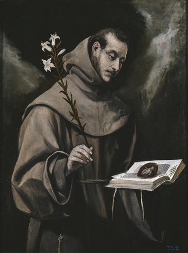 Плакат Saint Anthony of Padua