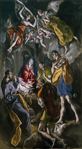 Плакат Adoration of the Shepherds