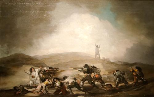 Постер на подрамнике Scene form the spanish war of independance