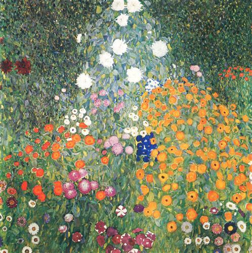 Постер на подрамнике Blumender garten