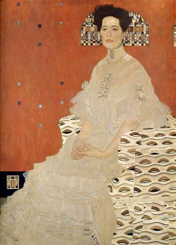 Плакат Портрет Фризы Ридлер