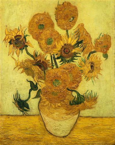 Постер на подрамнике Sunflowers