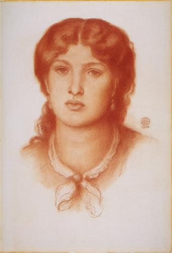 Плакат Fanny Cornforth