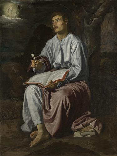 Постер на подрамнике Saint John the Evangelist on the Island of patmos