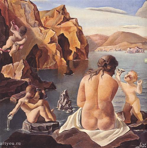 Постер на подрамнике Venus with Cupids
