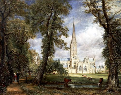 Постер на подрамнике Salisbury Cathedral