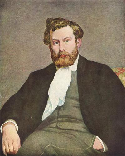 Постер на подрамнике Portrait of Alfred Sisley