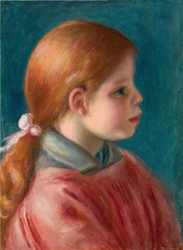 Постер на подрамнике Tete de jeune fille