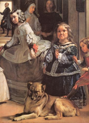 Постер на подрамнике Las Meninas (Detail)