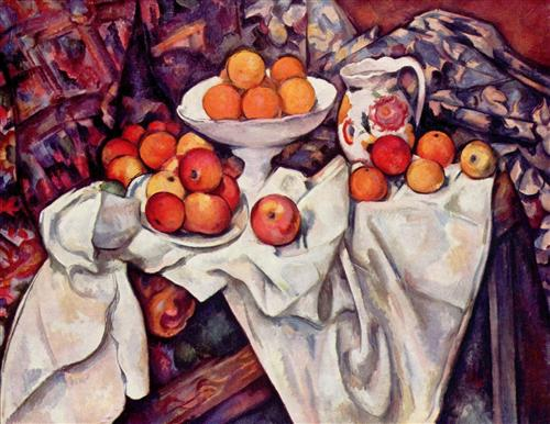 Плакат Still Life with Apples and Oranges