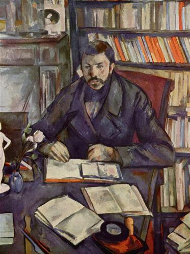 Постер на подрамнике Portrait of Gustave Geffroy
