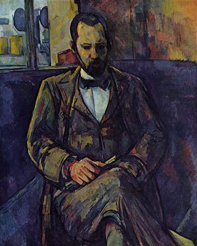 Плакат Portrait of Ambroise Vollard
