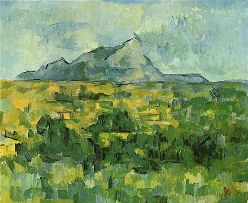 Постер на подрамнике Mont Sainte-Victoire