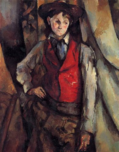 Постер на подрамнике Boy in a Red Waistcoat