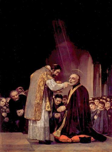 Постер на подрамнике The Last Communion of St. Joseph of Calasanza