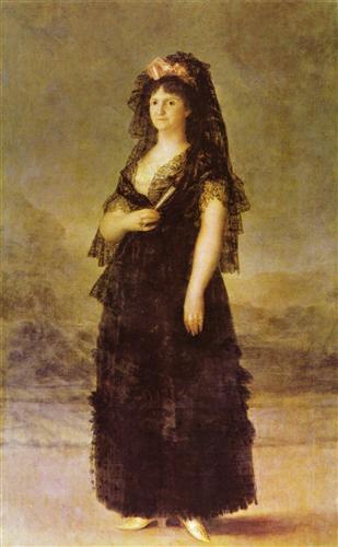 Постер на подрамнике Portrait of the Queen of Spain Maria Louisa, nee Bourbon-Parma