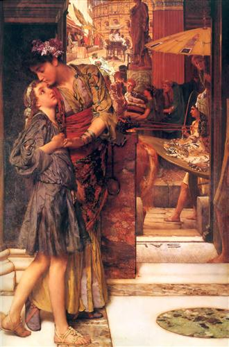 Плакат The Parting Kiss