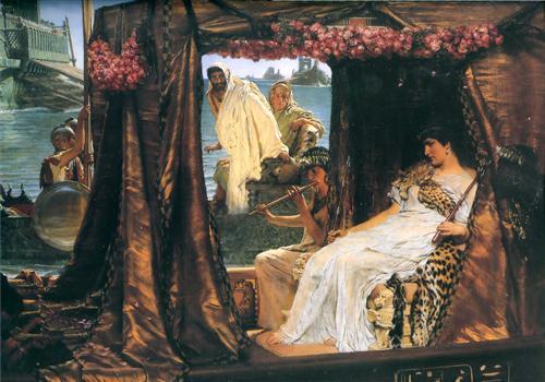 Плакат Antony and Cleopatra