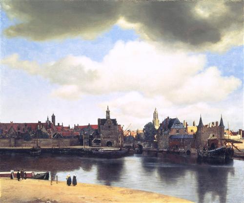Постер на подрамнике Ansicht von Delft