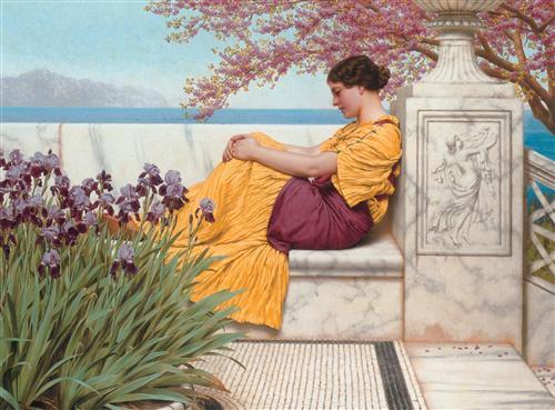 Постер на подрамнике Under the Blossom that Hangs on the Bough