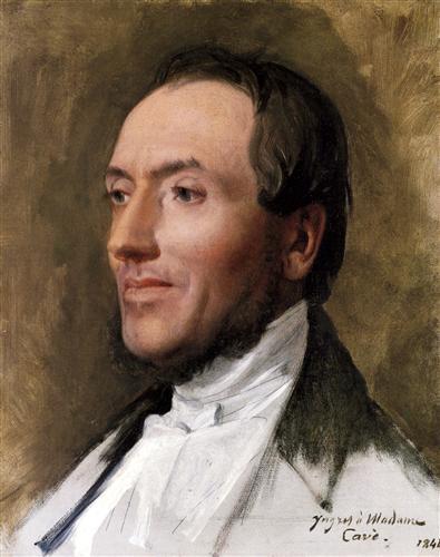 Постер на подрамнике Portrait of Hygin Edmond Ludovic Auguste Cave
