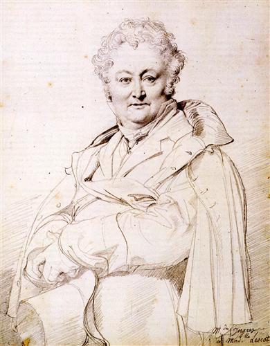 Постер на подрамнике Portrait of Guillaume Guillon Lethiere