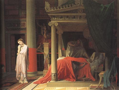 Постер на подрамнике Antiochus and Stratonice