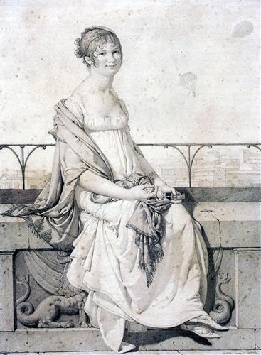 Постер на подрамнике Portrait of Barbara Bansi