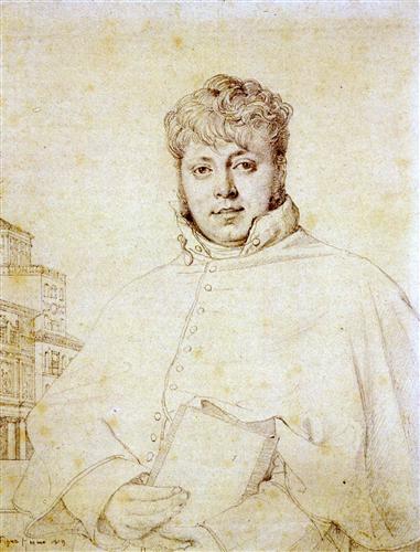 Постер на подрамнике Portrait of Auguste Jean Marie Guenepin