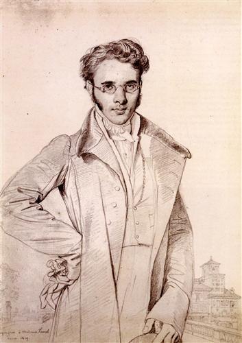 Постер на подрамнике Portrait of Andre Benoit Barreau, called Taurel