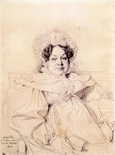 Постер на подрамнике Madame Louis Francois Bertin, nee Genevieve Aimee Victoire Boutard