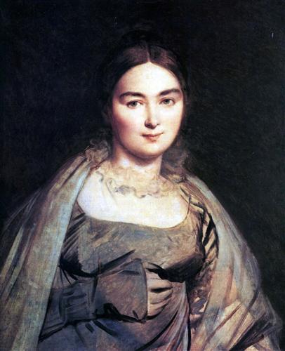 Постер на подрамнике Madame Jean Auguste Dominique Ingres, nee Madeleine Chapelle
