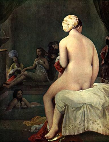 Постер на подрамнике Bath