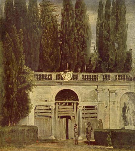 Плакат Villa Medici, Grotto-Loggia Facade