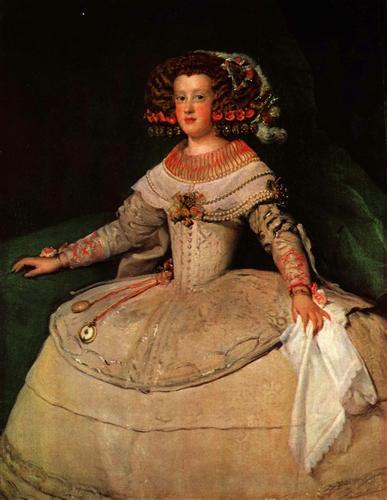 Постер на подрамнике Infanta Maria Teresa