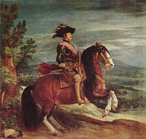 Постер на подрамнике Felipe IV a caballo