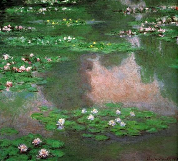Постер на подрамнике The Water Lillie
