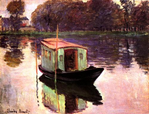 Постер на подрамнике The Studio Boat