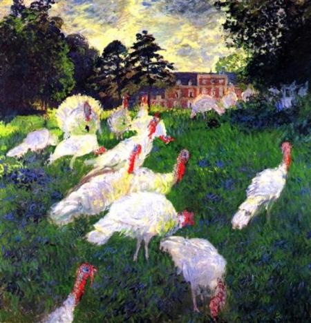 Постер на подрамнике The Turkeys