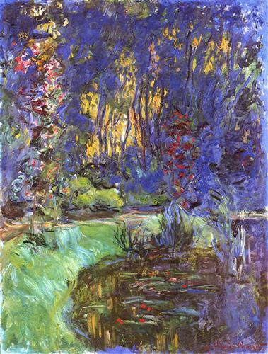 Постер на подрамнике The Garden in Giverny