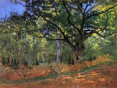 Постер на подрамнике The Bodmer Oak, Fontainbleau Forest