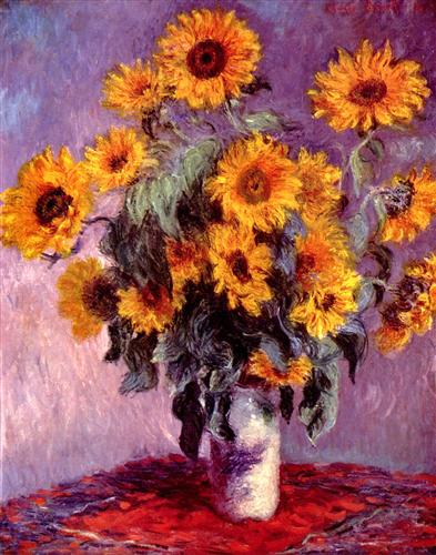 Плакат Still-Life with Sunflowers (0).